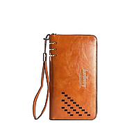 Мужской портмоне-клатч Baellerry Leather W009