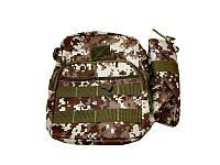 Сумка тактическая военная Спартак MHZ N02181 Pixel Desert Камуфляж (007421) КОД: 007421