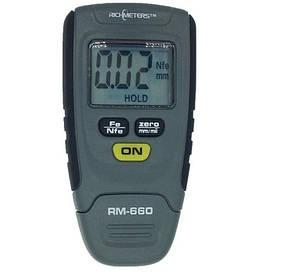 Товщиномір / вимірювач товщини фарби RM660 plus КОД: HHDBVFD18YFVCFD
