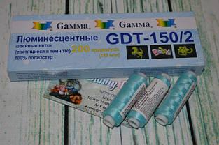 Світляні нитки для вишивки та шиття Gamma