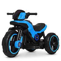 Детский мотоцикл-трицикл Police M 4228EBL-4 синий, фото 1