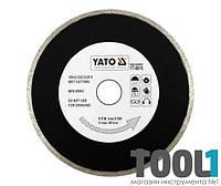 Алмазный диск для плиткорезов 200 мм х 25,4 мм Yato YT-6017