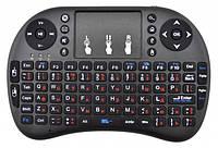 Беспроводная мини клавиатура с тачпадом Rii UKC i8 2.4G Черный  КОД: FL-181