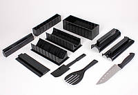 Набор для приготовления суши и роллов Мидори Черный  КОД: 11763