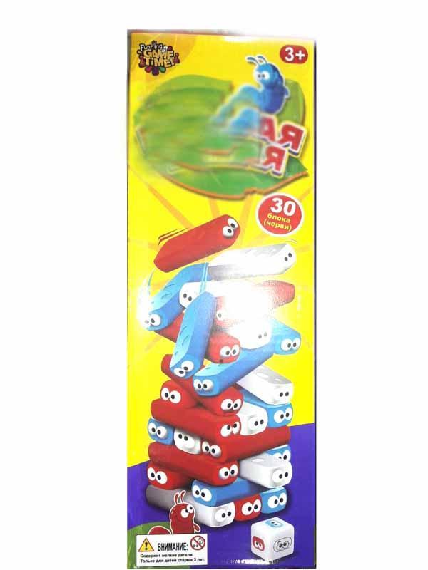 Игра настольная Джанга 787-26 (Башня, вежа) 30 блоков