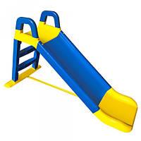 Горка детская Doloni Toys Сине-желтый (222247) КОД: 222247