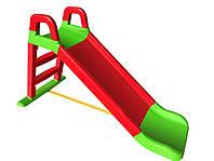 Горка детская Doloni Toys Зелено-красный (222245) КОД: 222245