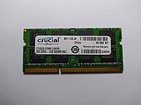 Оперативная память для ноутбука SODIMM Crucial DDR3L 8Gb 1333MHz (CT8G3S1339M) Б/У