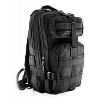 Тактический рюкзак Спартак Molle Assault 20L Black КОД: 006869