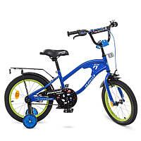 Велосипед детский двухколесный PROFI Y16182 TRAVELER 16 дюймов синий, фото 1