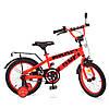 Велосипед детский двухколесный PROFI T16171 Flash 16 дюймов красный