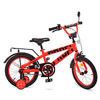 Велосипед детский двухколесный PROFI T16171 Flash 16 дюймов красный, фото 1