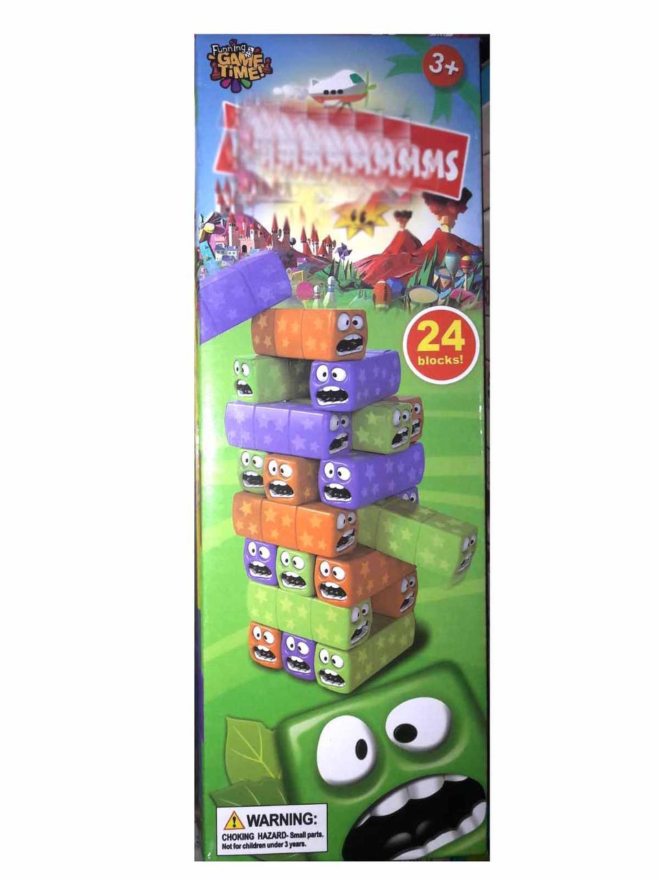 Игра настольная Джанга 3568 (Башня, вежа) 24 блока