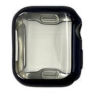 Чехол-накладка DK Silicone Color Face Case для Apple Watch 38mm (black)