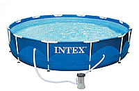 Intex Бассейн каркасный 26706 NP 305х99 см, насос, лестница, 6500л  ***