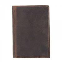 Мужской держатель для паспорта GMD Коричневый (R-8436R) КОД: R-8436R