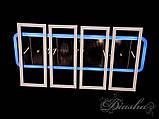 Потолочная люстра с диммером и LED подсветкой, цвет чёрный хром 11019/4BHR LED dimmer, фото 2