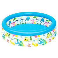 Детский надувной бассейн BESTWAY 51008 Рыбки