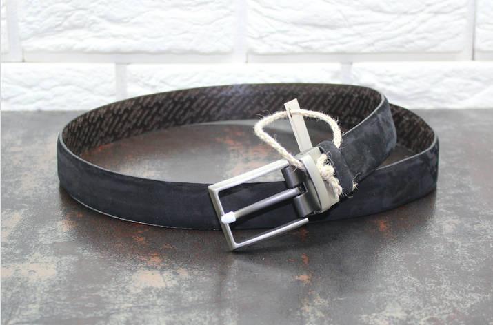 Стильный кожаный ремень, фото 2