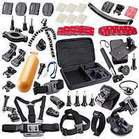 Комплект аксессуаров для экшн-камер UrbanKit 50-в-1  КОД: UK321