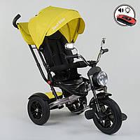 ⏩ Велосипед детский трехколесный Best Trike 4490-3948 желтый, фото 1