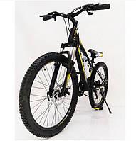 Подростковый велосипед колеса 24 дюймов S300 Blast-New Чёрно-Желтый, фото 1