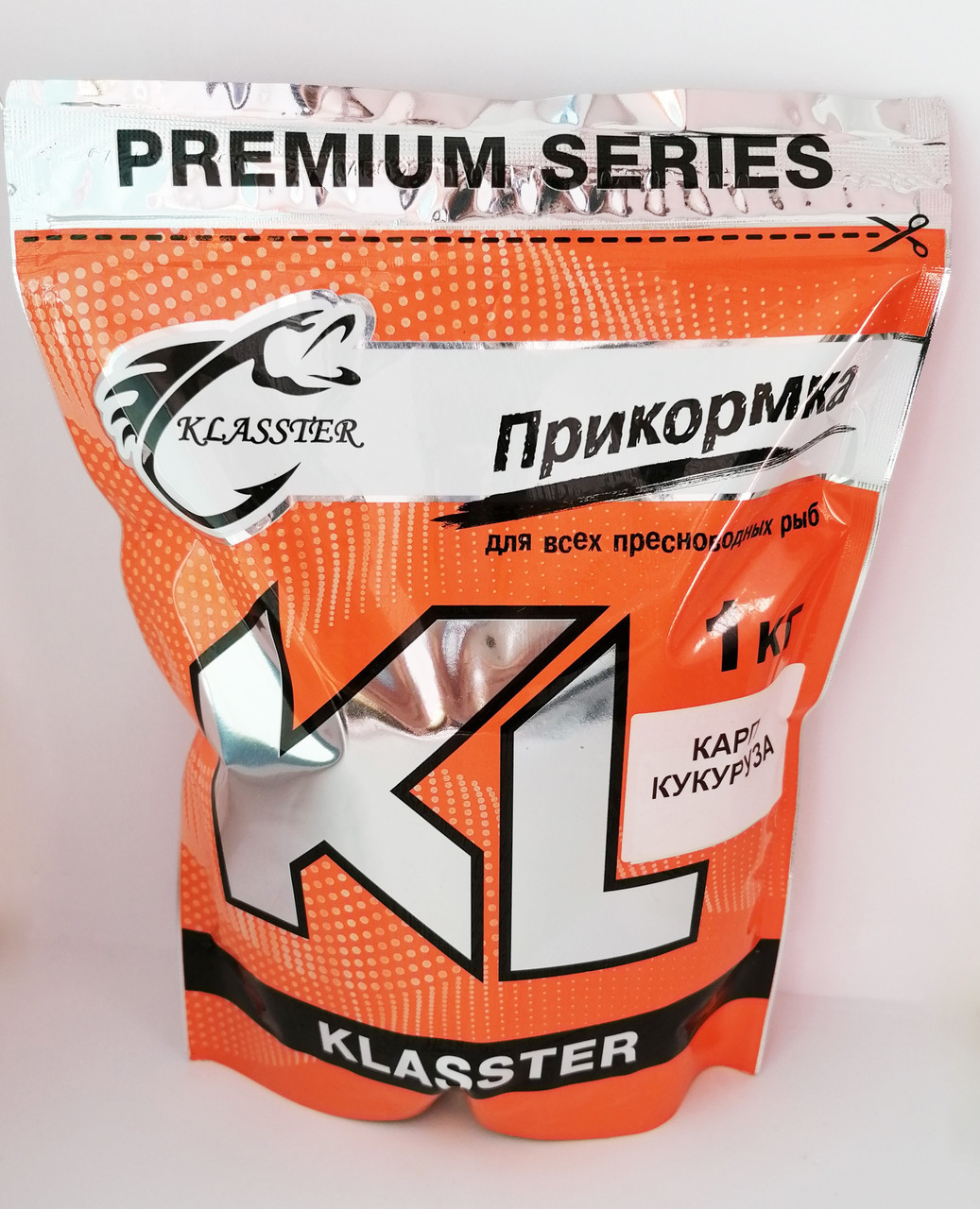 Прикормка Klasster Premium Карп Кукуруза 1кг
