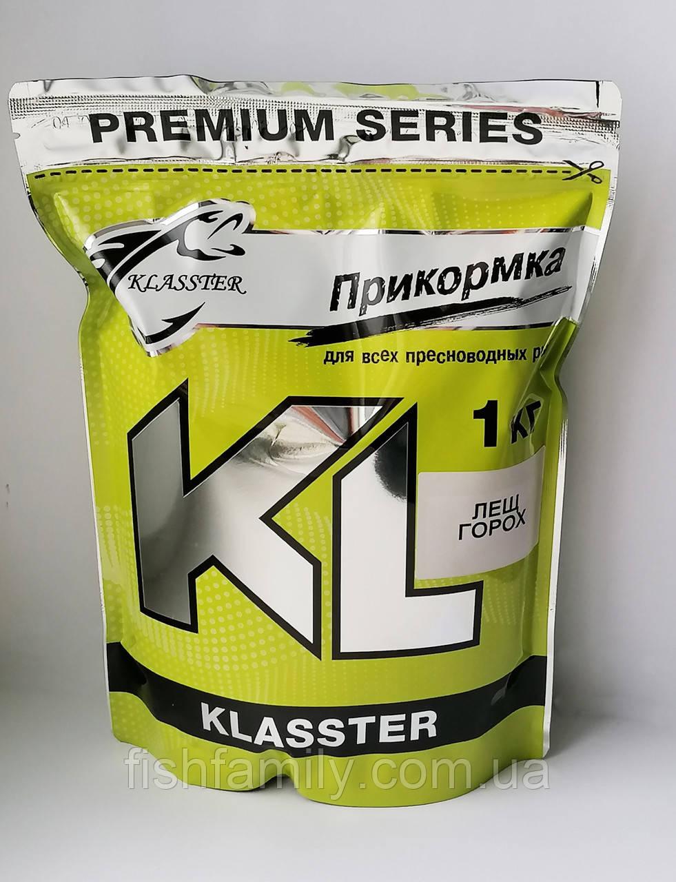 Прикормка Klasster Premium Лещ Горох 1 кг