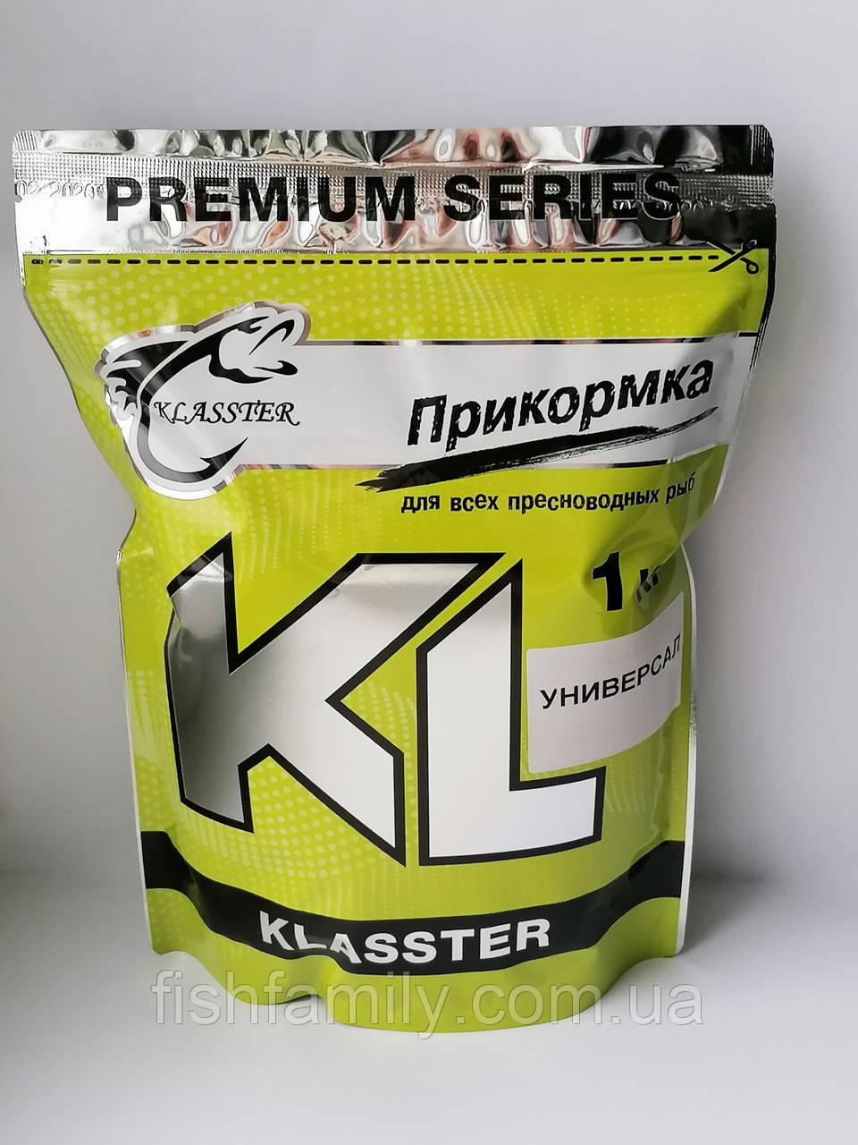 Прикормка Klasster Premium Универсал 1 кг
