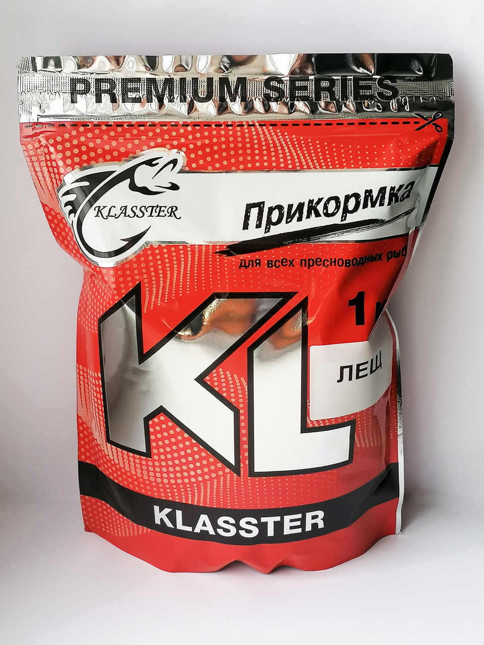 Прикормка Klasster Red Series Лещ альбумин 1 кг