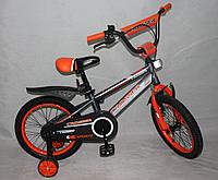 Детский двухколесный велосипед SPORTS CROSSER -1 оранжевый (12 дюймов)***