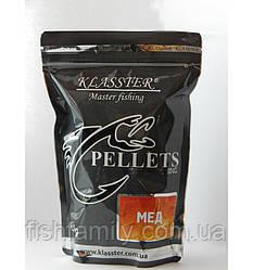 Пеллетс прикормочный Klasster Мёд (гранула 4мм)  500г