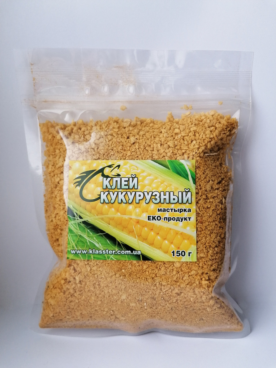 Активатор клева Klasster Клей мастырка кукурузная 150г