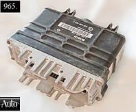 Электронный блок управления (ЭБУ) Volkswagen Golf III Vento 1.4 92-93г (ABD)