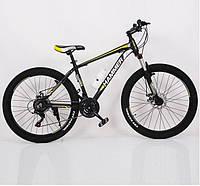 """Подростковый велосипед колеса 26 дюймов """"S200 HAMMER"""", Рама 17'' Черно-желтый, фото 1"""