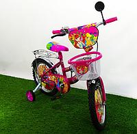 Двухколёсный велосипед Mustang Winx 16 дюймов розовый, фото 1