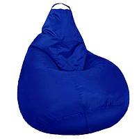 Кресло мешок SOFTLAND Груша для детей M 90х70 см Синий КОД: SFLD10