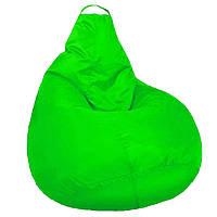 Кресло мешок SOFTLAND Груша стандартный взрослый XL 120х90 см Салатовый (SFLD33) КОД: SFLD33