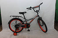 Двухколесный велосипед Crosser Street 18 дюймов черный