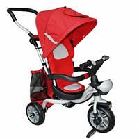 ⏩ Велосипед детский трехколесный AC-1 с Ева колесами красный