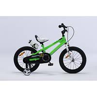 Детский велосипед Royal Baby Freestyle RB 12B-6, зеленый
