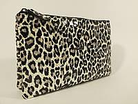 Кожаный лаковый клатч Desisan 070 леопард, расцветки в наличии