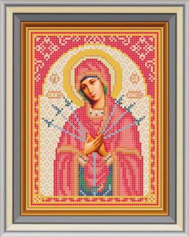 ЛК-3. Схема Богородица Семистрельная.