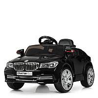 Детский электромобиль BMW M 3271EBLRS-2 черный автопокраска, фото 1