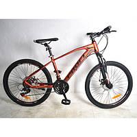 Велосипед спортивный PROFI 24 дюймов G24VELOCITY A24.2 красно-черный