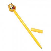 Ручка шариковая Монстрик (желтый)