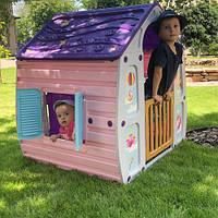 Детский пластиковый домик UNICORN GRAND HOUSE 22-561, фото 1