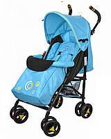 Детская прогулочная коляска-трость Bambi M 3422-2, голубая