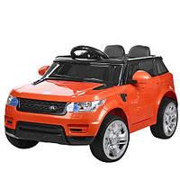 Детский электромобиль Land Rover M 3402EBLR-7 оранжевый