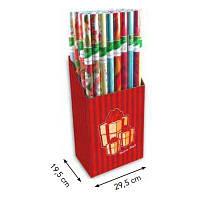"""Бумага упаковочная Дисплей, бумага для упаковки подарков """"ALL YEAR"""", 50 рул, 70х100см, ANGEL Я17992_AG-1000"""